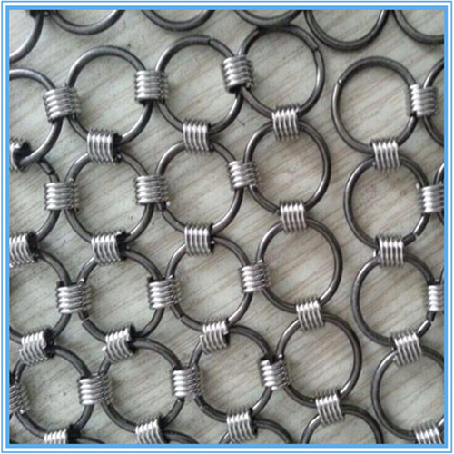Circular rings mesh/Ring mesh screen dividers