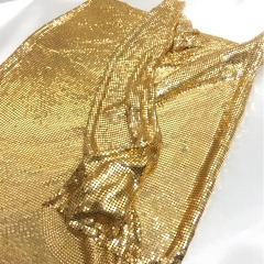 Aluminium metallic cloth/metal sequin mesh cloth