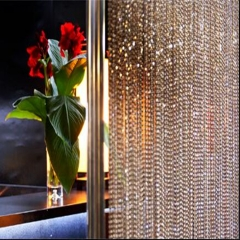 Hanging Metal ball chain beaded curtains