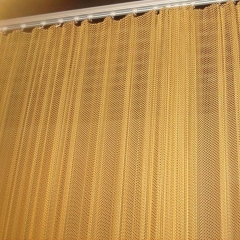 Fireplace screen mesh/Restaurant screen dividers